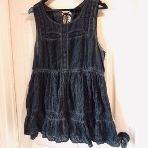 Black Wash Torrid Plus Size Dress/Top